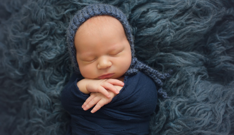 Orlando Florida Newborn Photographer | Baby Brady