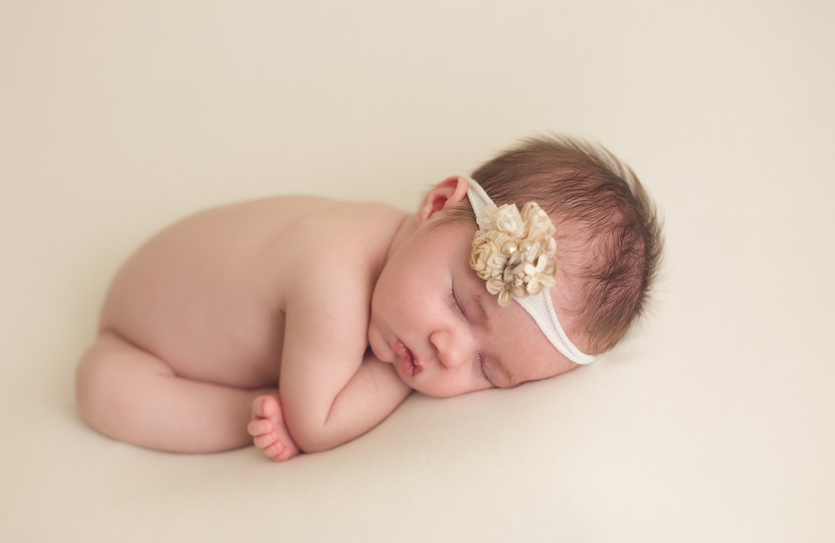 ORLANDO FLORIDA LAKE NONA NEWBORN PHOTOGRAPHER | BABY ESTELLE