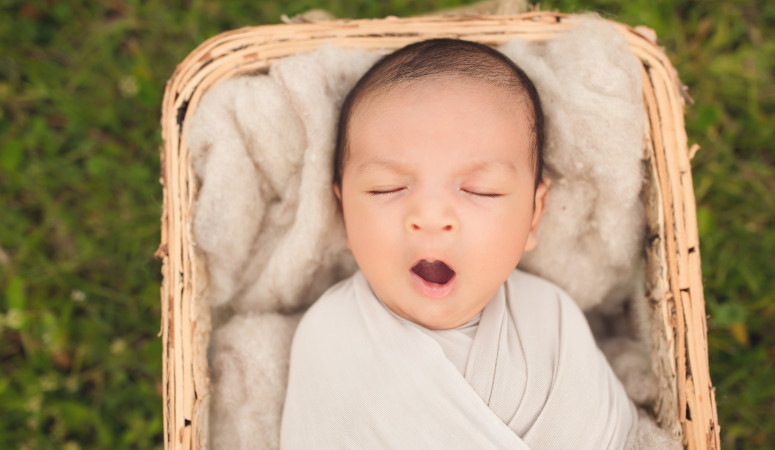 orlando lake nona florida | outdoor newborn photography
