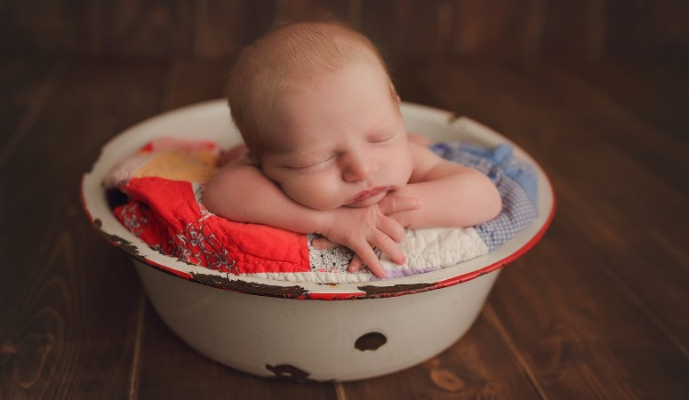 ORLANDO FLORIDA NEWBORN PHOTOGRAPHER | BABY BOY ELLIOT