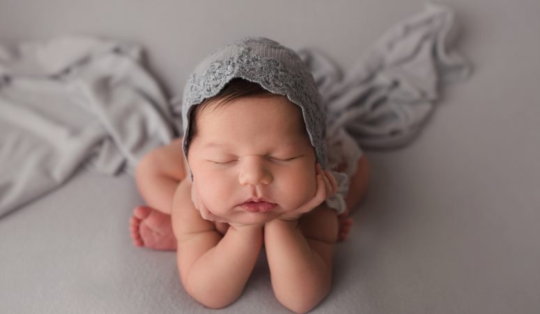 NEWBORN BABY GIRL | HAIR ENVY | ORLANDO FL OVIEDO NEWBORN PHOTOGRAPHER | MICHELLE SPERRY PHOTOGRAPHY