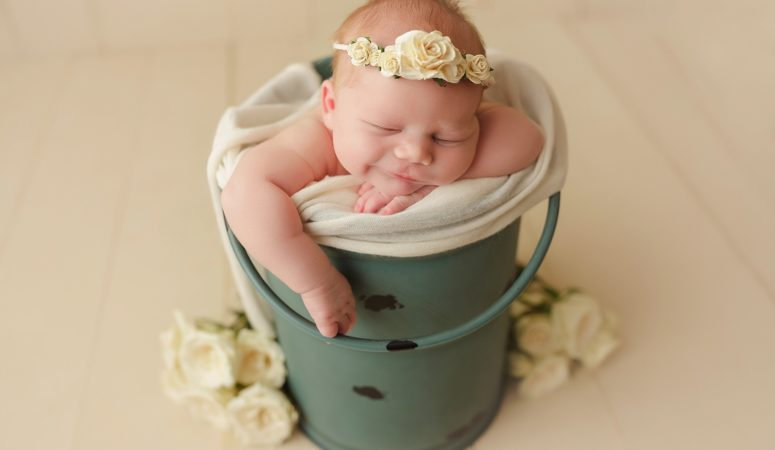 NEWBORN BABY GIRL | BROTHER SISTER TEAM | ORLANDO FL OVIEDO NEWBORN PHOTOGRAPHER | MICHELLE SPERRY PHOTOGRAPHY